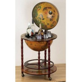 eucalyptus bar globe drinks cabinet